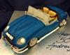 E type Jaguar cake