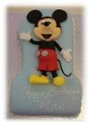 Mickey Mouse number one cake
