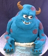 sulley monster inc cake