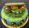 teenage ninja turtle sewer escape cake