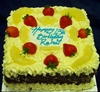 pineapple fresh cream cake 8""